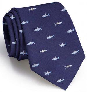 Bonefish Club Tie: Tie - Navy