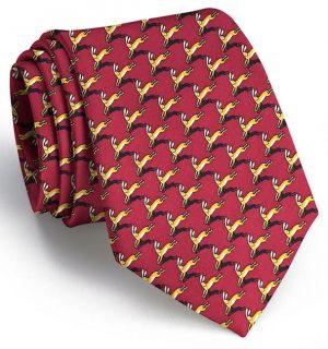 Complete Hare Coverage: Tie - Burgundy