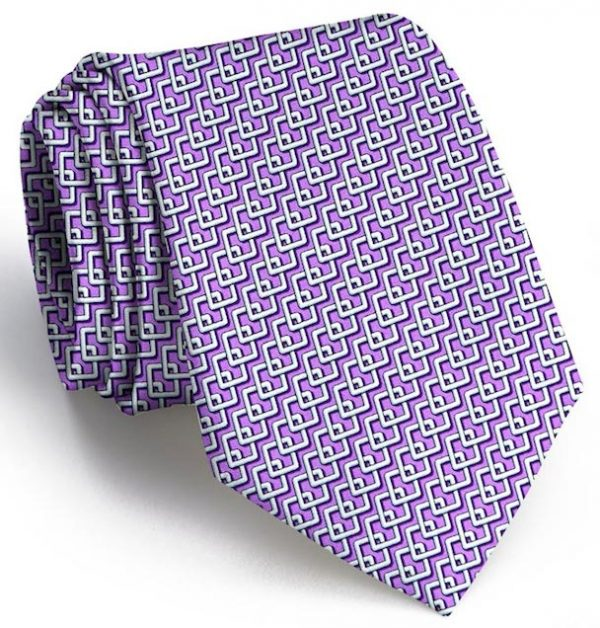Complete Square: Tie - Purple