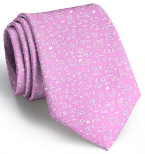 Dog Park Classic: Tie - Pink