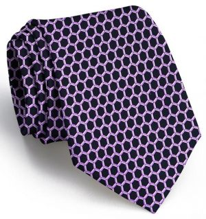 Honeycomb: Tie - Black