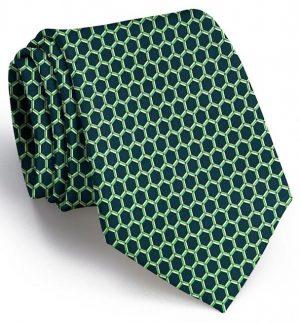 Honeycomb: Tie - Green