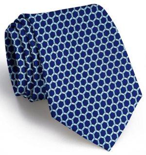 Honeycomb: Tie - Navy