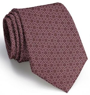 Puddle Dots: Tie - Brown