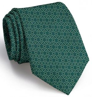 Puddle Dots: Tie - Green