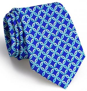 Ring Toss: Tie - Mid Blue