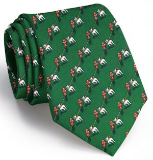 The Bulldog Blues: Tie - Dark Green