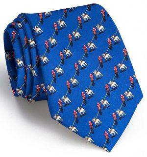 The Bulldog Blues: Tie - Mid Blue