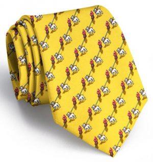 The Bulldog Blues: Tie - Yellow
