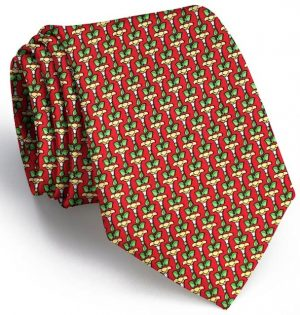 Tulip Time: Tie - Red