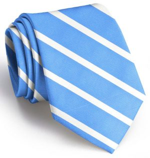 Beau Brummel Stripe: Extra Long - Blue
