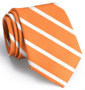 Beau Brummel Stripe: Extra Long - Orange