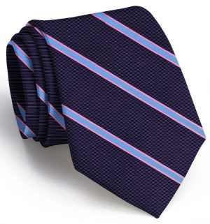 Boardroom Stripe: Extra Long - Navy