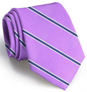 Boardroom Stripe: Extra Long - Violet