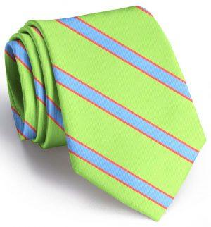 Van Tassel Stripe: Extra Long - Lime/Blue