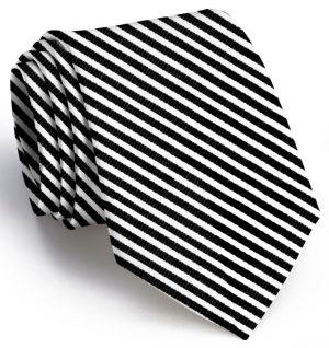 Chapman Stripe: Extra Long - Black/White