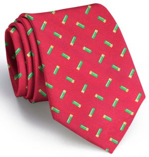 Shotgun Shells Club Tie: Extra Long - Red