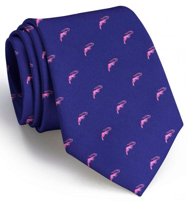 Crawfish Club Tie: Extra Long - Mid Blue