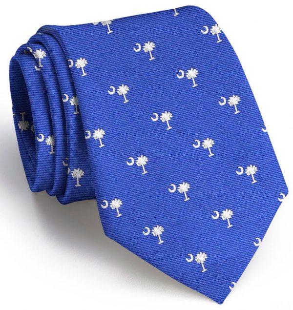 Palmetto Club Tie: Extra Long - Blue