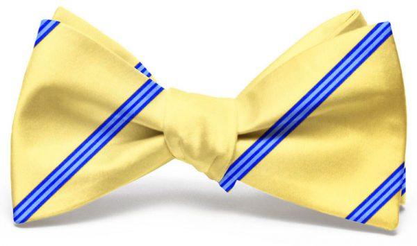 Railroad Stripe: Bow - Yellow