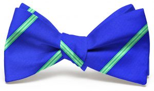 Railroad Stripe: Bow - Mid Blue