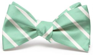 Beau Brummel Stripe: Bow - Mint