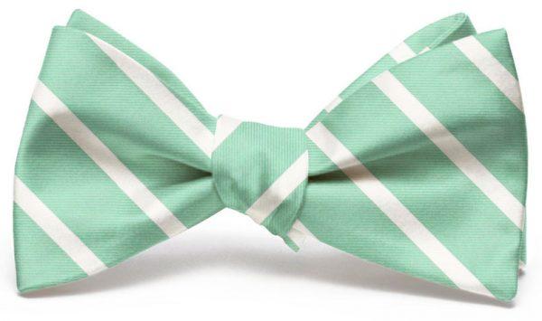 Beau Brummel Stripe: Bow - Mint