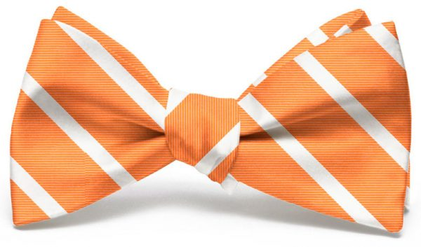 Beau Brummel Stripe: Bow - Orange