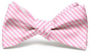 Chapman Stripe: Bow - Pink