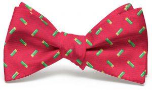 Shotgun Shells Club Tie: Bow - Red