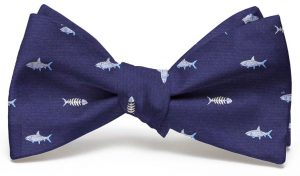 Bonefish Club Tie: Bow - Navy