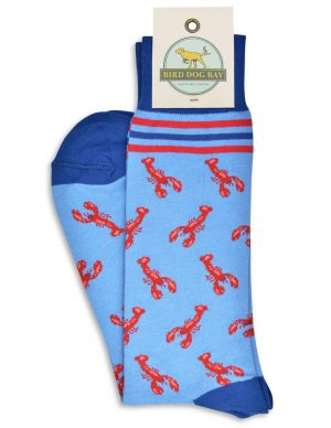 Lobster Lounge: Socks - Lt. Blue