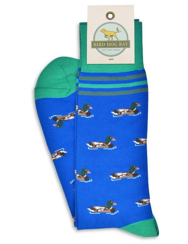 Sitting Ducks: Socks - Mid Blue