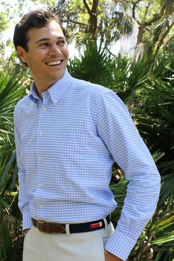 Ennis: Woven Cotton Shirt