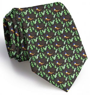 Pheasant Run: Tie - Brown