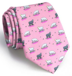 Black Sheep: Tie - Pink