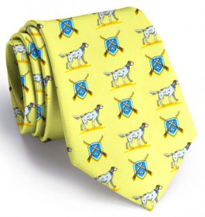 Setter Shield: Tie - Yellow