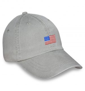 American Flag Sporting Cap – Stone