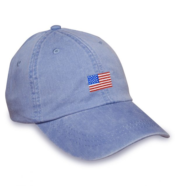American Flag Sporting Cap – Blue