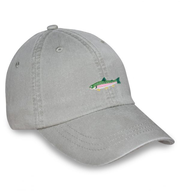 Rainbow Trout Sporting Cap – Stone