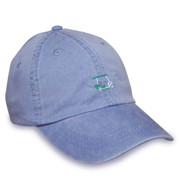 Golf Cart Sporting Cap – Blue