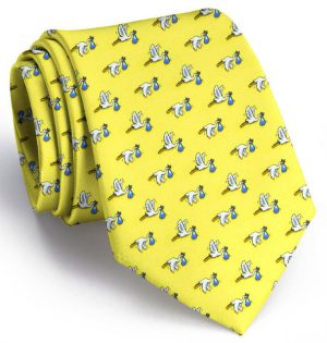 1st Class Delivery Tie: Yellow - Boy