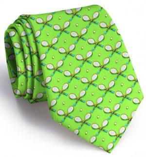 Racket Luv: Tie - Lime