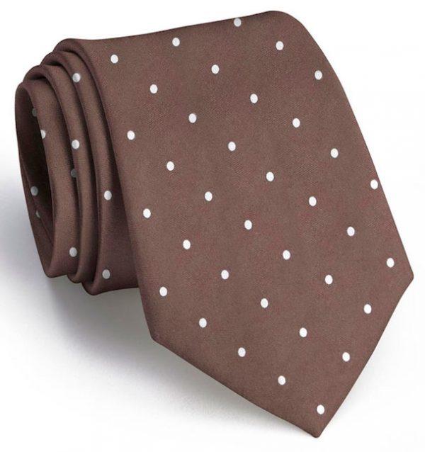 Classic Spots: Tie - Brown