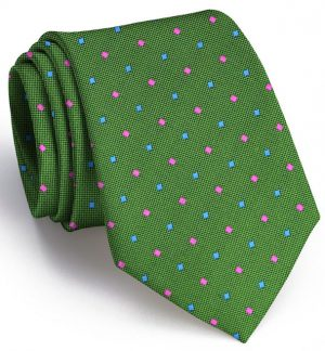 Wooly Neat: Tie - Green