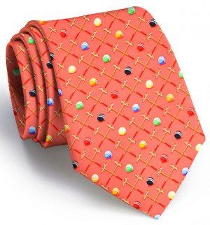 Croquet Sunday: Tie - Coral