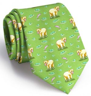 Bear Necessities: Tie - Green