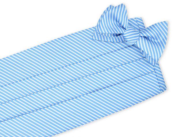 Chapman Stripe: Cummerbund - Blue