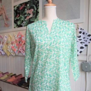 Palm Leaf: Women's Tunic