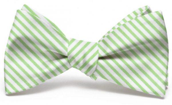 Signature Stripe: Bow - Green